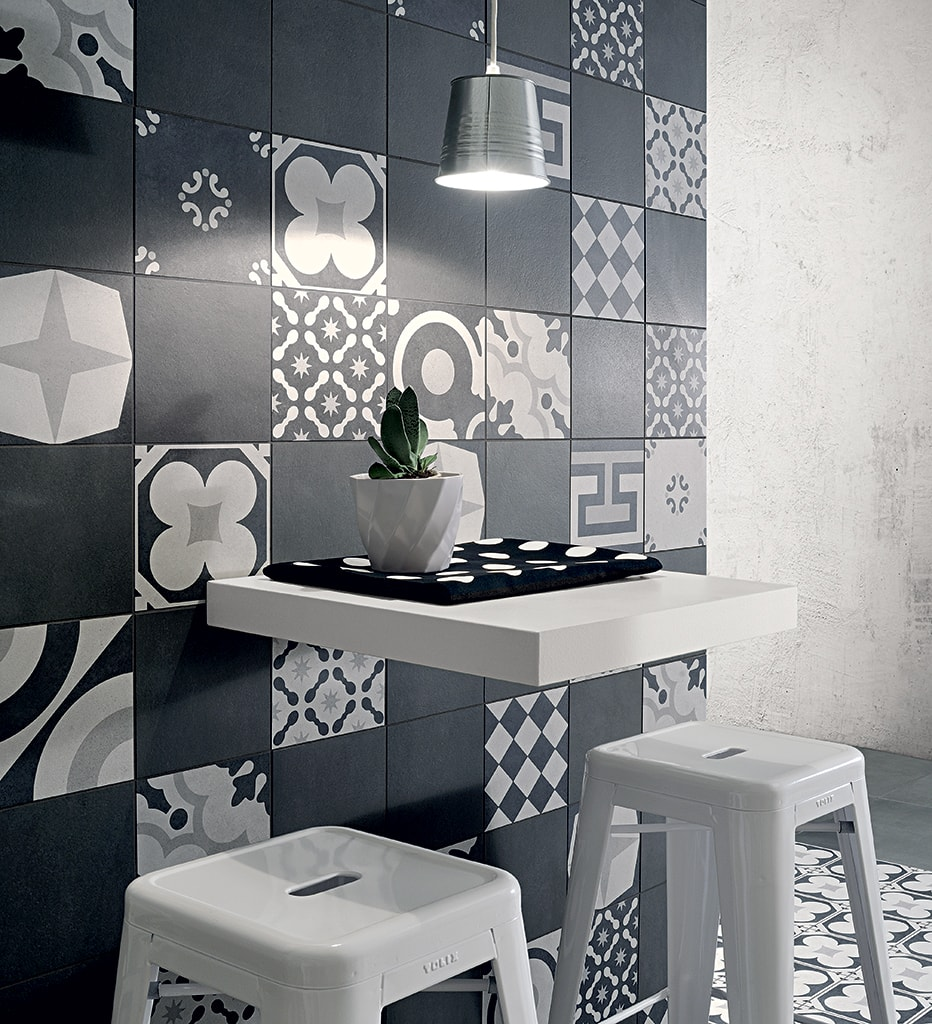 Black&White Mix und Blend Concrete Gomma